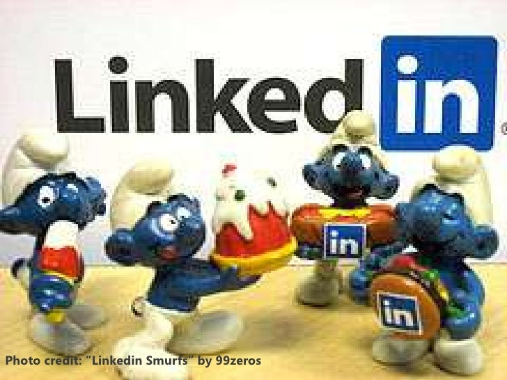 "Photo credit: ""Linkedin Smurfs"" by 99zeros"