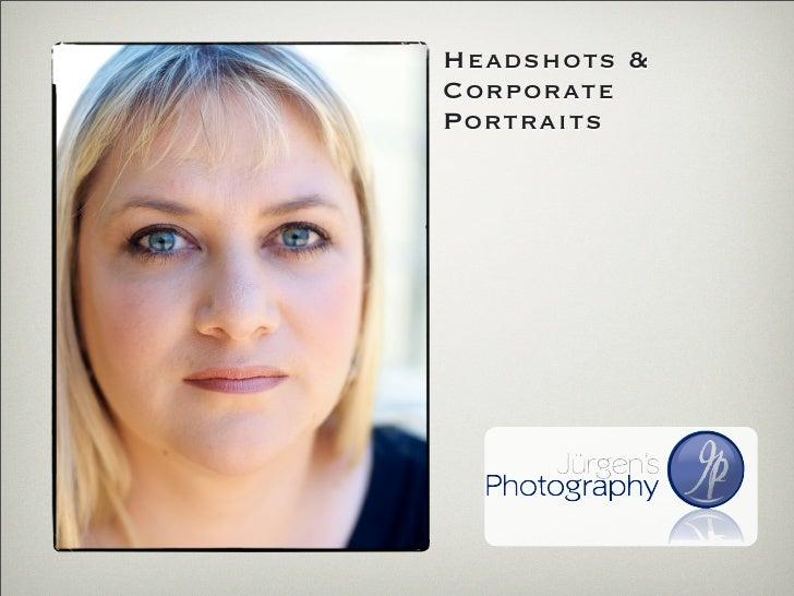 Headshots & Corporate Portraits