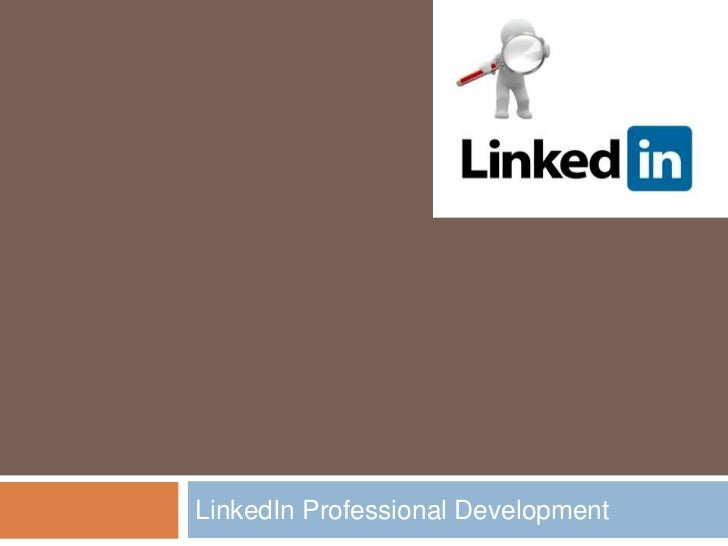 LinkedIn Professional Development