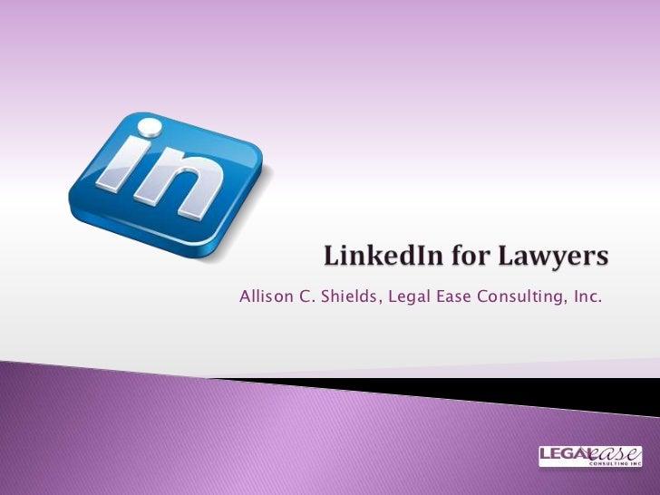 Get More Out of LinkedIn Avvo webinar: September 2012