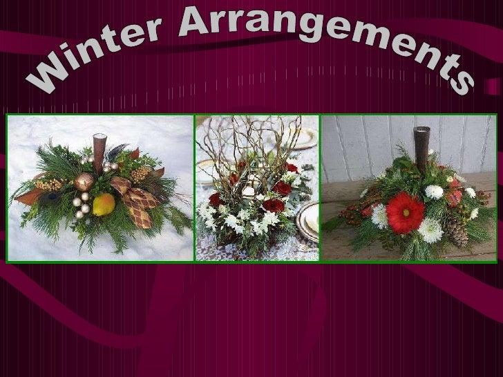 Winter Arrangements