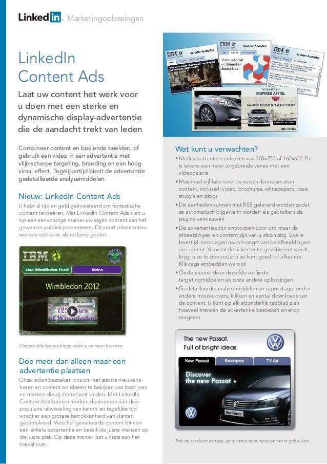 LinkedIn - Content Ads