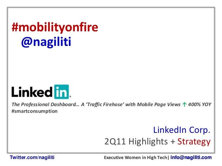 LinkedIn Strategy + 2Q11 - NAGILITI