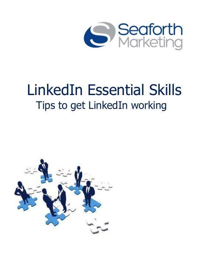 LinkedIn essential skills ebook