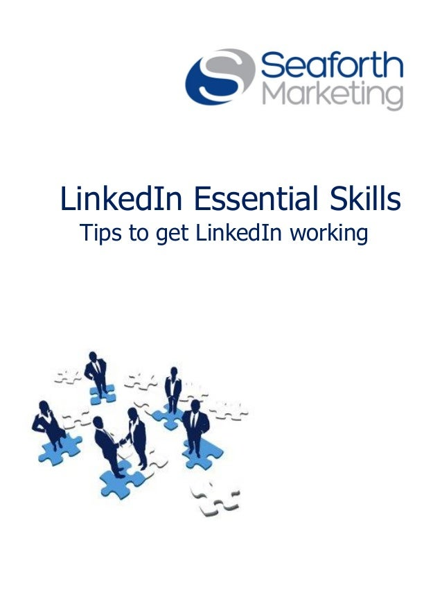 LinkedIn essential skills ebook