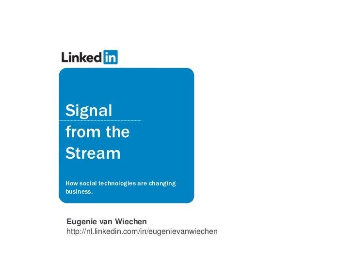 Linked In Eugenie Van Wiechen Jobmarketing Update 2011