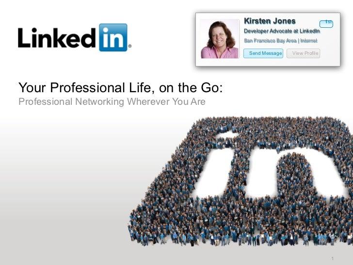 Kirsten Jones                       1st                                           Developer Advocate at LinkedIn          ...