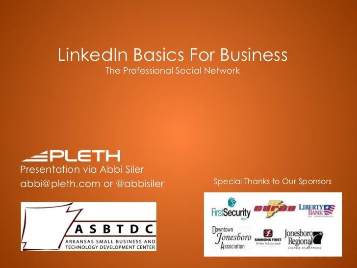 LinkedIn For Business - Arkansas State University