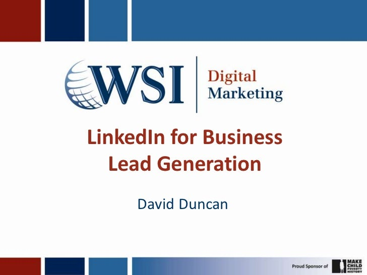 Linked In For Business   Ibd Lead Generation