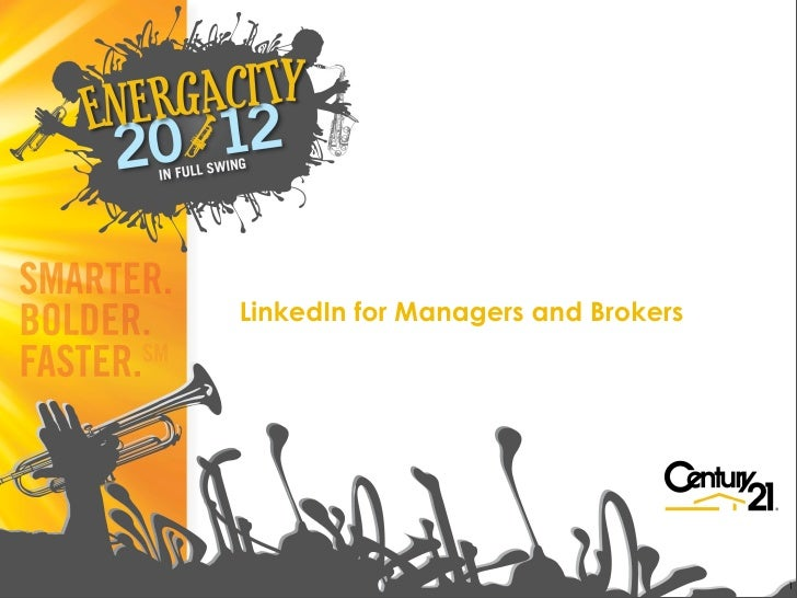 Linked in for Real Estate Managers and Brokers