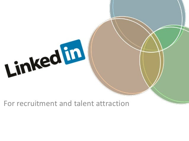 For recruitment and talent attraction