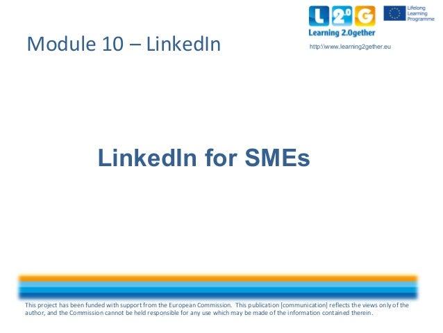 LinkedIn for SMEs