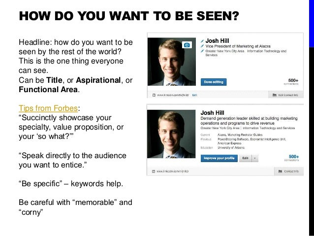 How To Use Linkedin As A College Student Get Jobs And