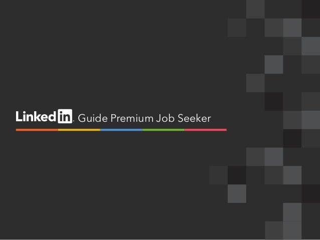Guide Premium Job Seeker