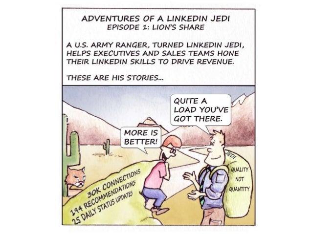 LinkedIn Jedi Cartoon - Episode 1