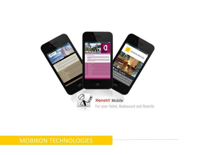 MOBIKON TECHNOLOGIES<br />