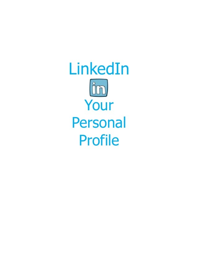 Link Up with Linked In
