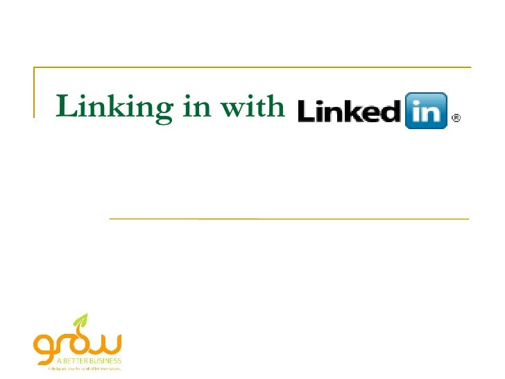 Linking in with LinkedIn