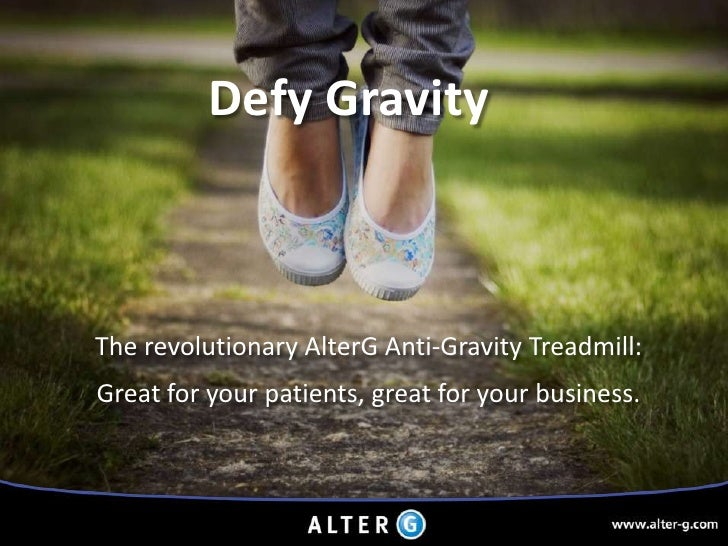 Introducing Anti-Gravity Therapy
