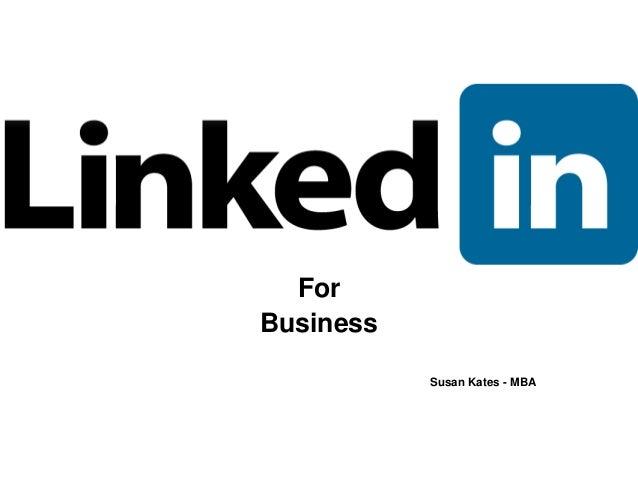 Linked in presentation