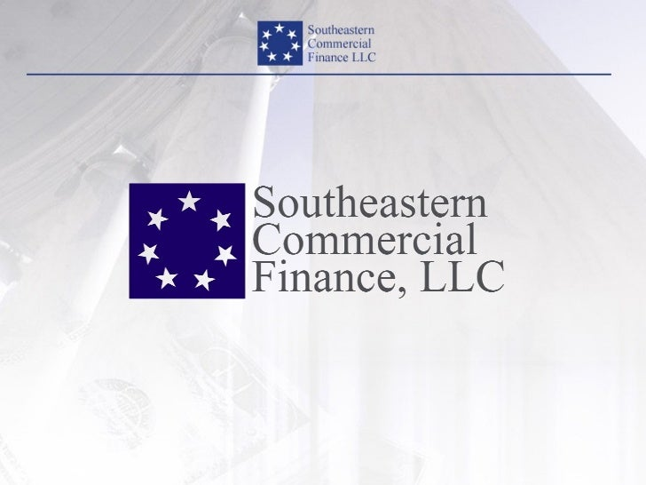 About Southeastern Commercial        Finance, LLC                    Mission:Through partnership with the banking communit...