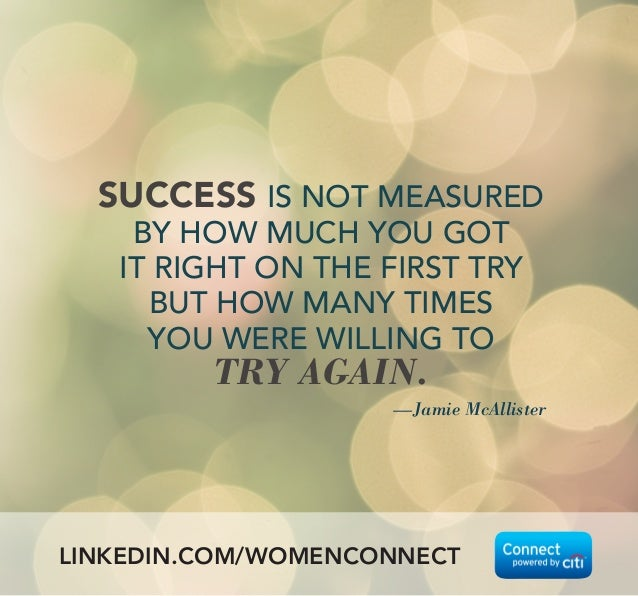 How Is Success Measured Quotes