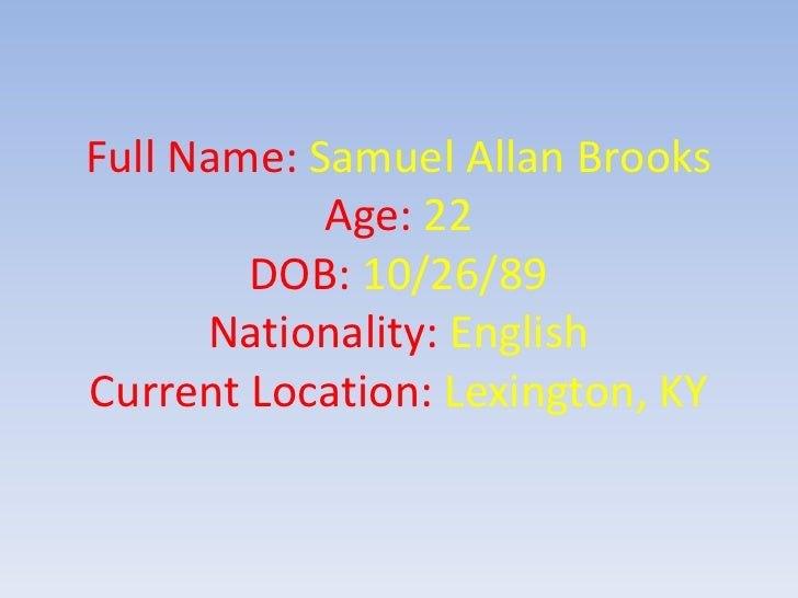 Linked In Resume