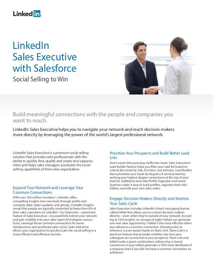 LinkedIn Sales Executive for Salesforce