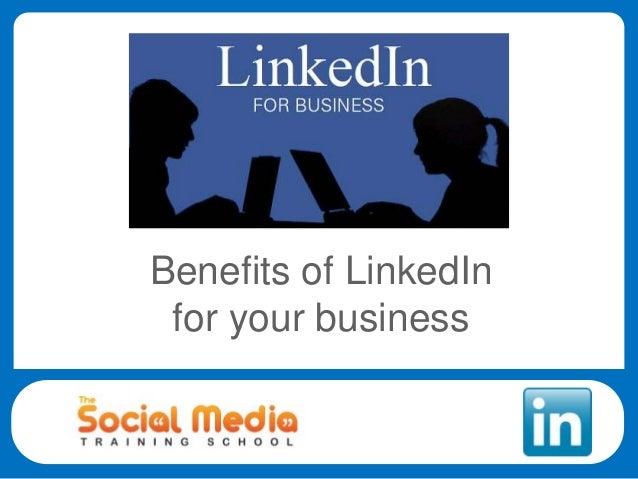 The Benefits of LinkedIn