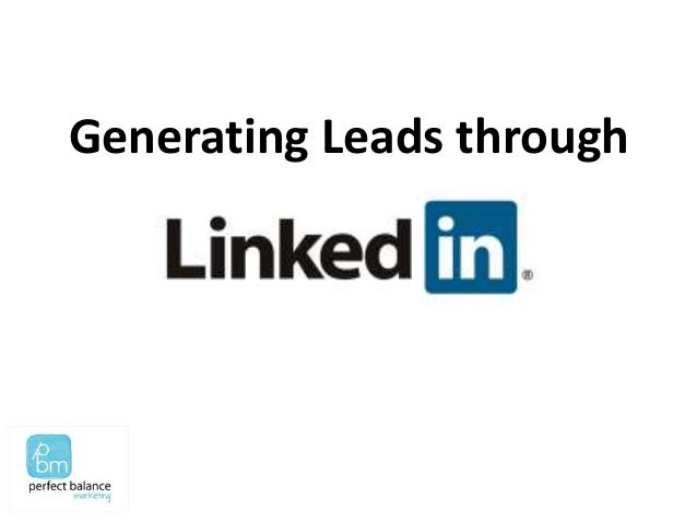 Generating Leads through