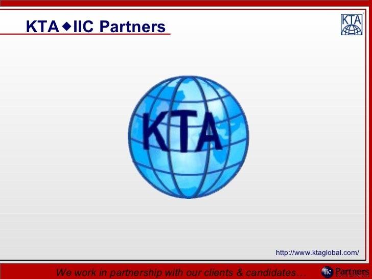 Linked in slide show   kta iic presentation 220410