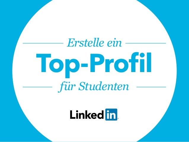 Erstelle ein Top-Profil für Studenten