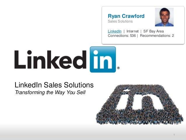 Ryan Crawford                                Sales Solutions                                LinkedIn | Internet | SF Bay A...