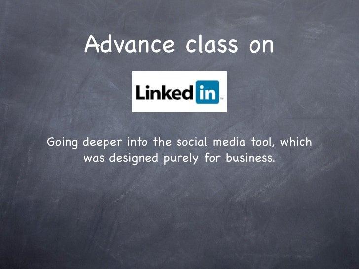 LinkedIn Training Presentation