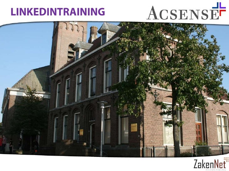 Linkedin Training Zakennet