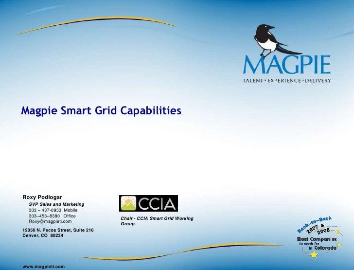 Magpie Smart Grid Engineering