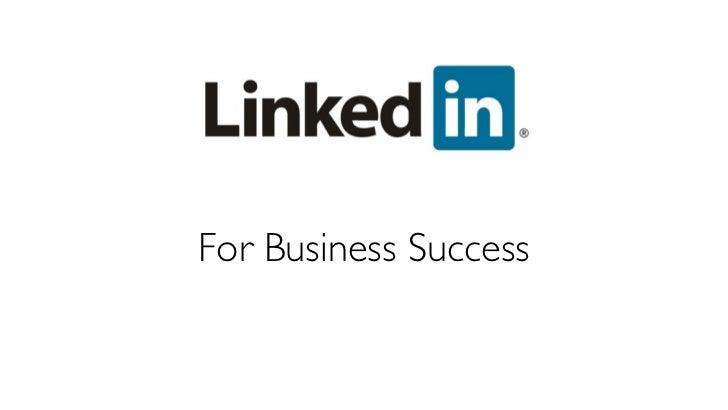 Linked in workshop