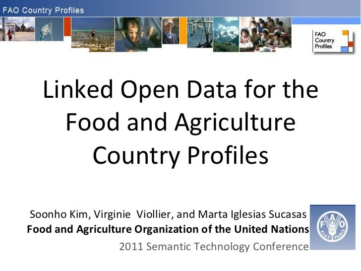 Linked Open Data for the Food and Agriculture Country Profiles