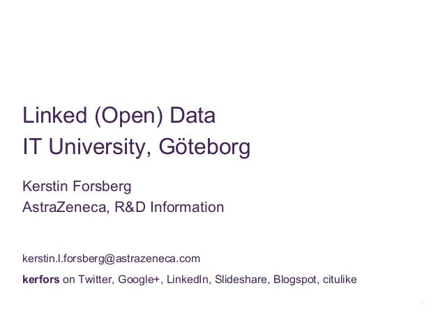 Linked open data it univ 22 nov 2012