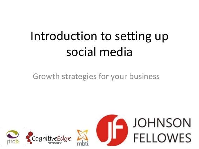 Linking bits of social media