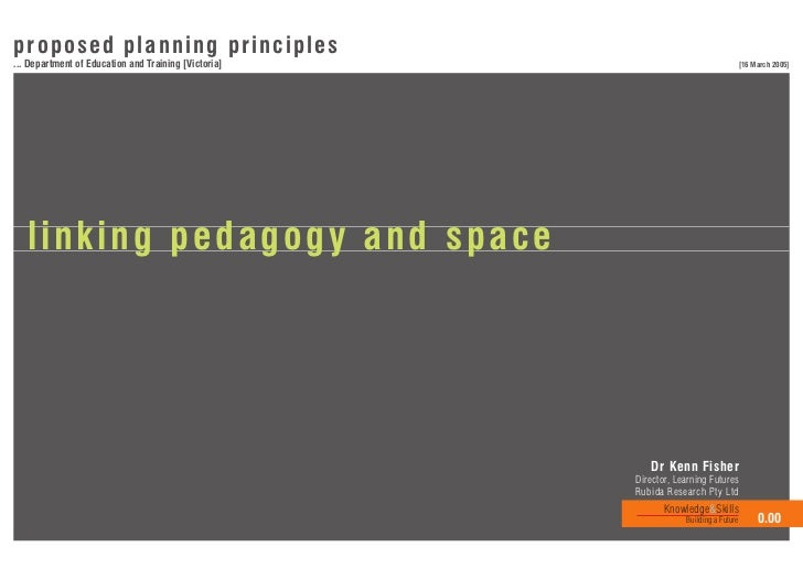 Linking pedagogy and_space