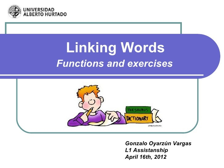 essay structure linking words