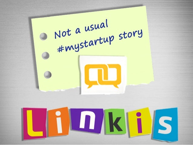 Linkis: not a usual MyStartupStory
