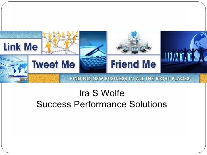 Ira S Wolfe Success Performance Solutions