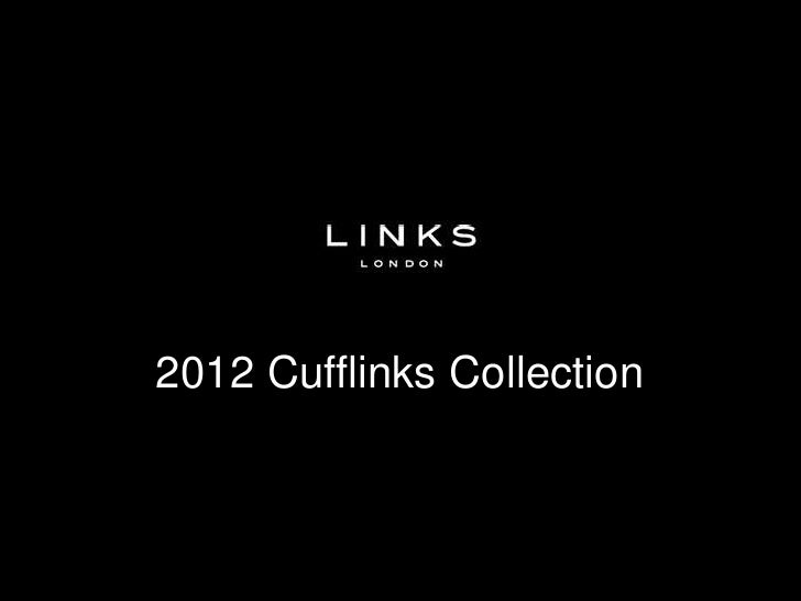Links of London - 2012 Cufflinks Collection