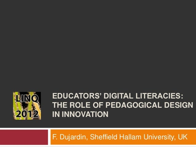 LINQ12  Educators' Digital Literacies