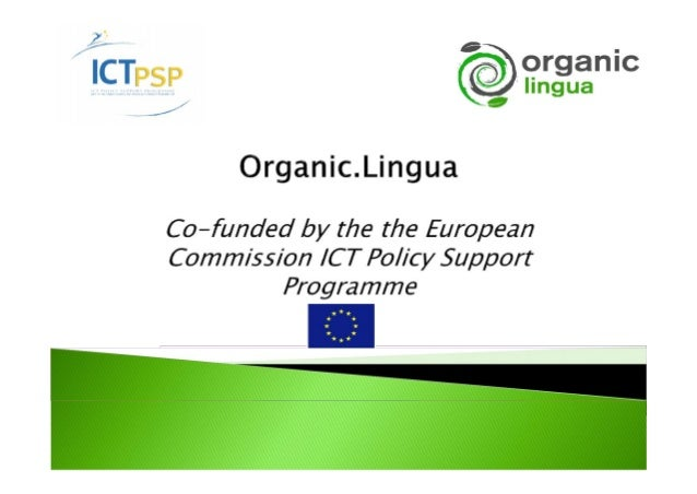Enhance the existingOrganic.Edunet Web portal byintroducing automatedmultilingual services that willfurther support the up...