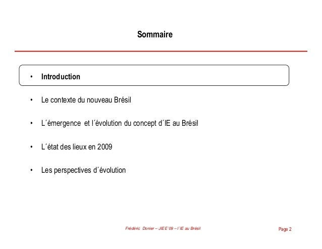 L intelligence economique au br sil conf rence jiee 09 for Chambre de commerce france bresil