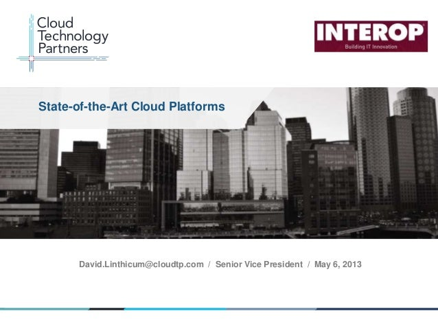 Linthicum state of-the-art-cloud-platforms