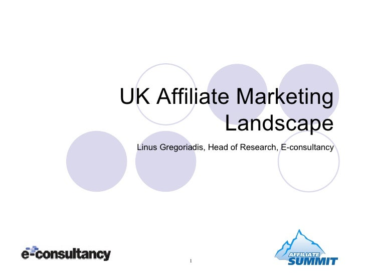 UK Affiliate Marketing Landscape